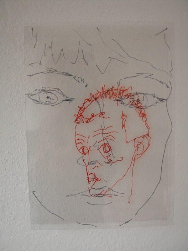 Selbstbildnis mit Egon Schiele 2004