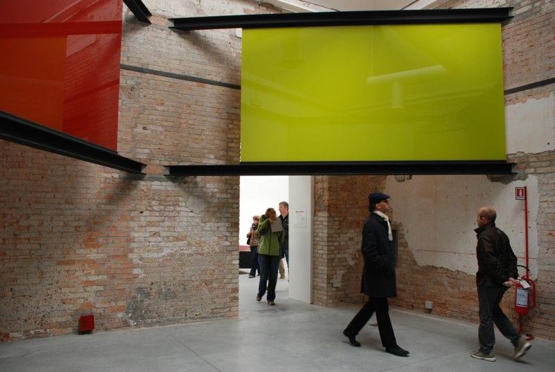 53.Biennale Venedig 2009 , zu Blinky Palermo