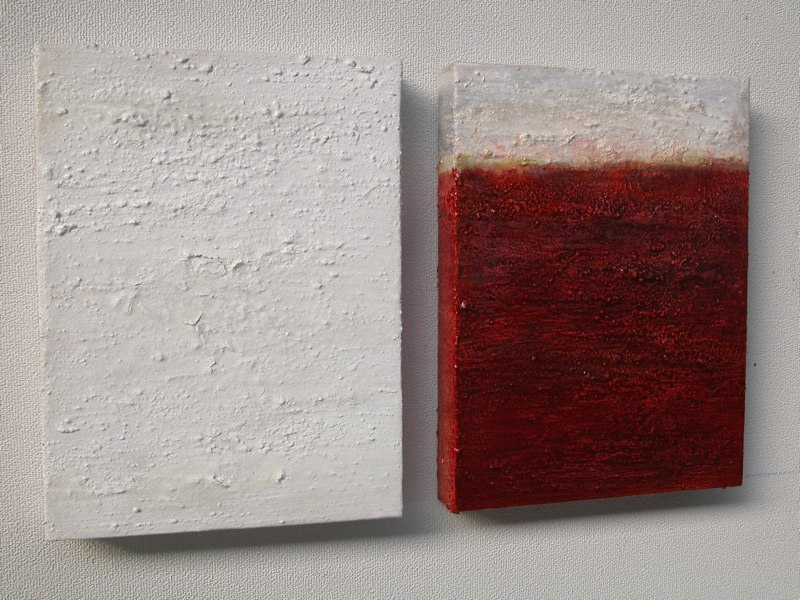 Duo beige 01_02_2003, je 40x30x5 cm
