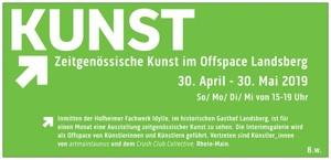 Einladung Zeitgenössische Kunst im Offspace Landsberg