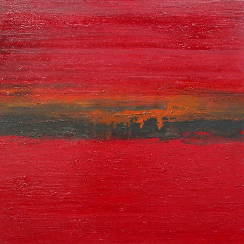 Landschaftsh10_2007, 100x100 cm