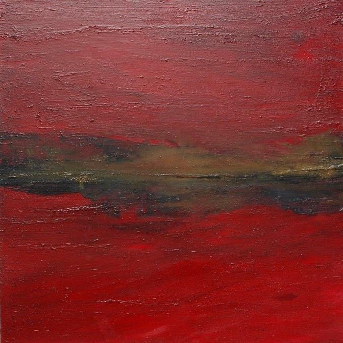 Landschaftsh14_2009, 100x100 cm