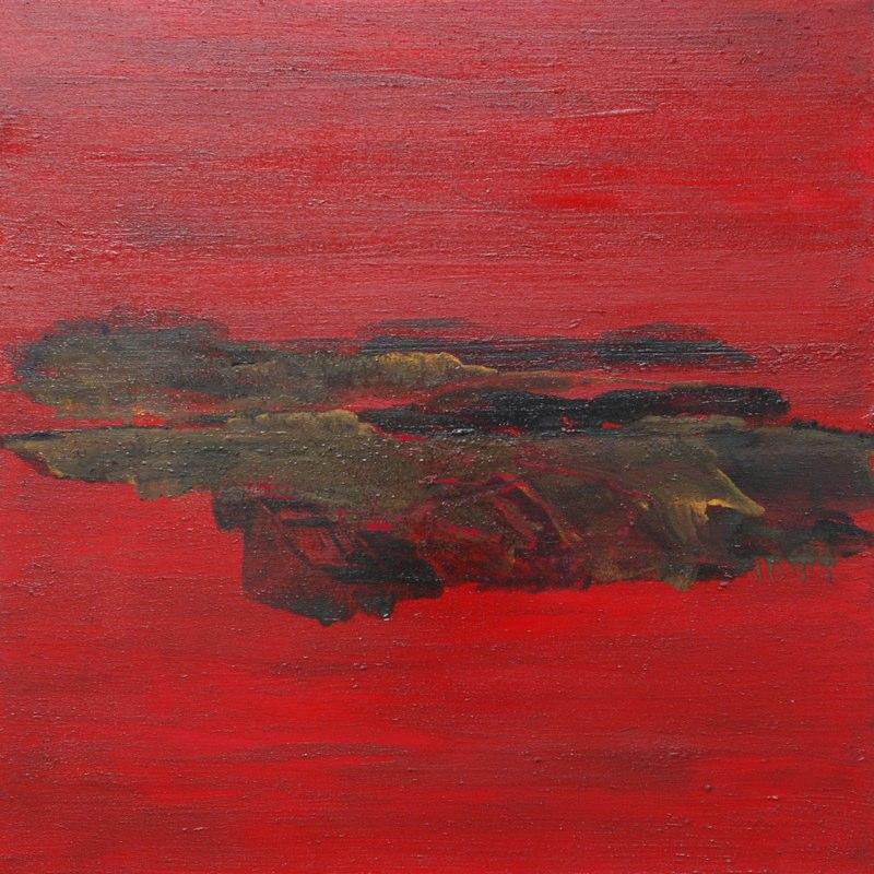 Landschaftsh16_2009, 100x100 cm