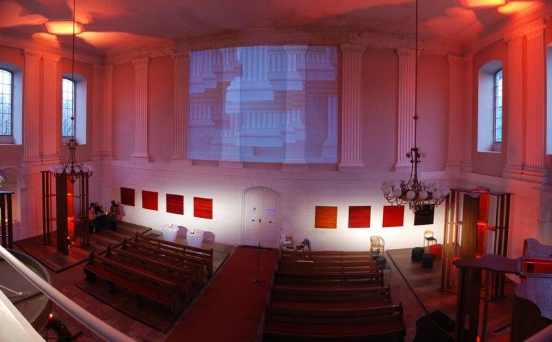 """Burgkirche_Friedberg """"umraeumen"""" 2008/9"""