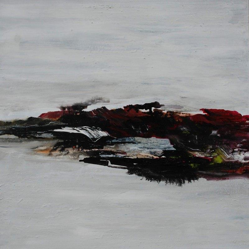 Serie schw_weiß05_2009, 100x100 cm
