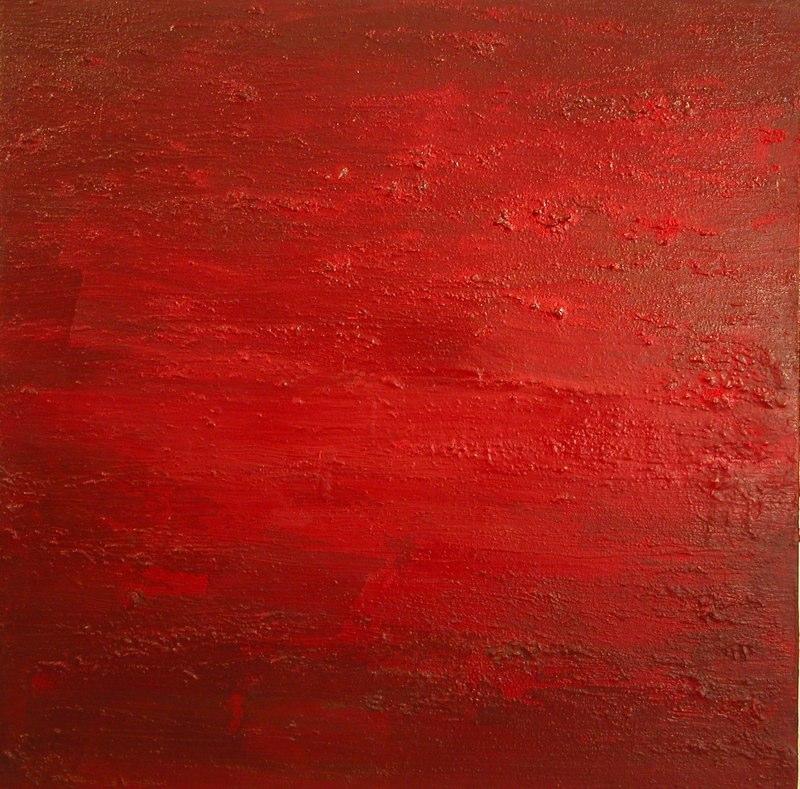 bordeaux intensiv1_2002, 100x100 cm