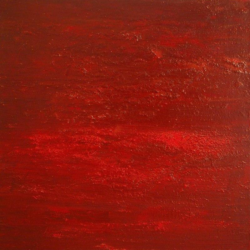 bordeaux intensiv2_2002, 100 x 100 cm