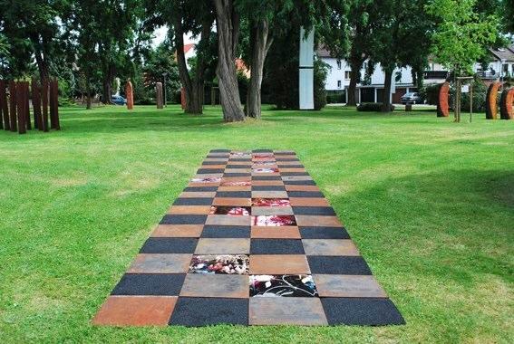 carpet of memories_ Skulpturenpark Mörfelden 2009