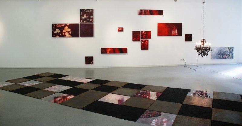2008 the light and the rose carpet _StadtGalerie Wetzlar