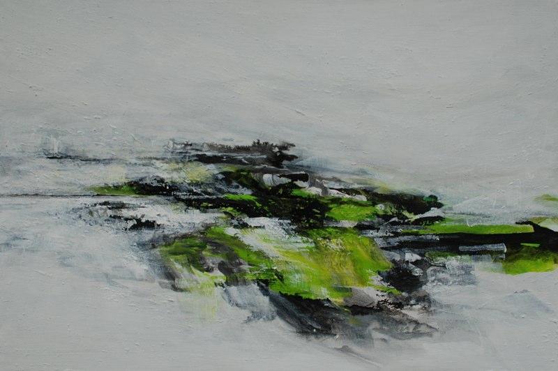 yangtzeLandschaft2_ 2010, 100x150 cm